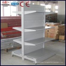 European Style Metal Supermarket Shelf Steel Gondola Shelving