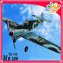 ME109 EPO TW 749 RC Airplane 2.4G 4CH Lanyu RC modèle Chine modèle productions rc avions avions modèle rc à vendre