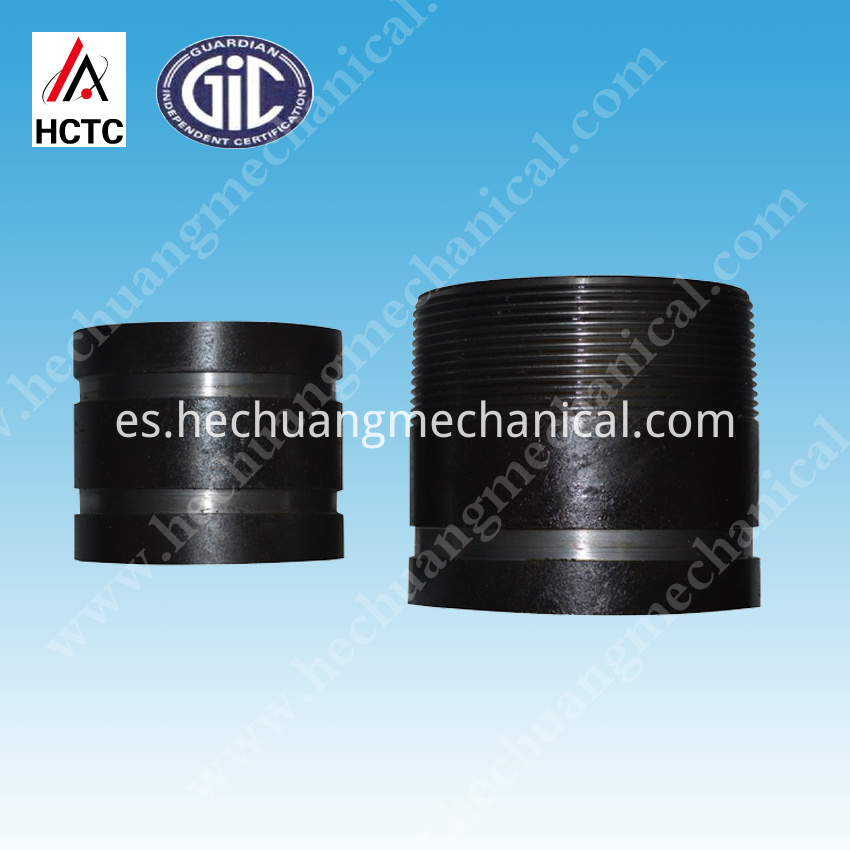 Sch 40 Threaded+grooved Steel Pipe Nipples-2