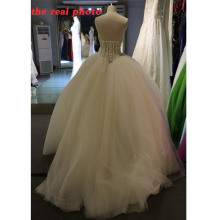 1A213 Haught Puffy Ruffle Arabia Beaded Wedding dresses