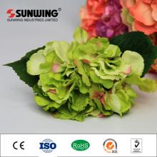 boda decorativa artificial verde corona de flores orquídeas