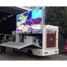 El camión de la etapa de 4x2 Dongfeng / P10 / P8 / P6 llevó el camión de la etapa de la pantalla / la exhibición llevada de la publicidad móvil del camión ligero en venta