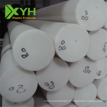 Barre ronde en plastique 100% vigin POM acétal pom