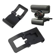 Novo Suporte de clip de TV Suporte de suporte de câmera ajustável para suporte de console ps3 slim de console vertical