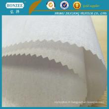 Tissu interlignage de haute qualité de textile de 100% coton pour le marché du Pakistan