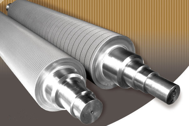 Chrome plated Corrugating Rolls