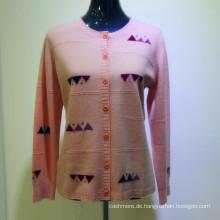 2017 damen benutzerdefinierte bestickt pullover kaschmir frau pullover