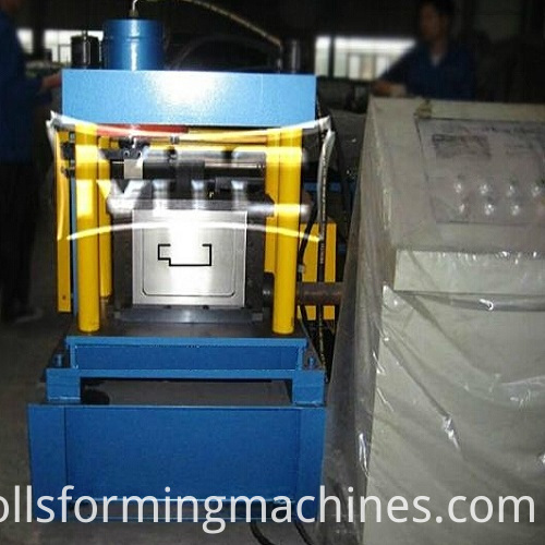 Metal Frame Doors Roll Forming Machine