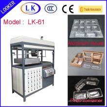 Máquina de termoformagem de recipientes de comida plástica