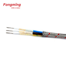 Multicore high temperature metal shield cable