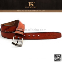 New design 100% cowhide genuine leather strips for belts