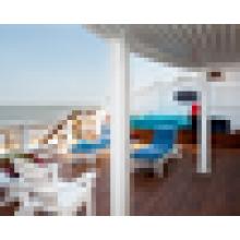 WPC decking suelo / cubierta WPC piso / cubierta cubierta exterior / impermeable piso de cubierta al aire libre
