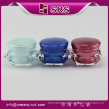 Acrylic Cosmetic Packaging And Screw Top Plastic Container And Beauty Cream Acrylic Plastic Jar