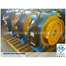 800kg 10 people Permanent Magnet Synchronous Elevator Gearless Traction Machine