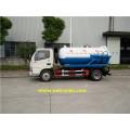 700 Gallon 130HP Vacuum Sewage Suction Trucks