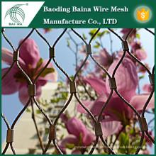 Jardim flores em aço inoxidável malha de arame cerca venda quente