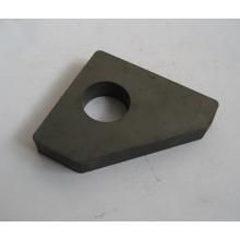 Постоянные твердые ферритовые магниты с отверстием