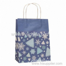Custom Stand Up Retail Paper Bag For Shopping