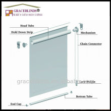 High class Hot Selling Good Quality Competitive Price vertical horizontal Motorized sunscreen & blackout outdoor roller blinds