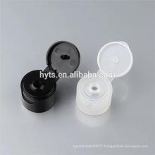 Free sample 28/410 black flip top cap for cosmetic bottle