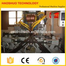 Máquina formadora de cadenas automática, soldadora de doblado de eslabones de cadena