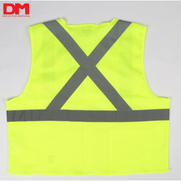 ANSI Class 2 Mesh Safety Vest for Men and Women