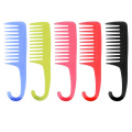 Anti-Static Hair Comb with Hanger, Hair Brush, Hair Brush, Tangled Large and Wide Tooth Comb, Professional Plastic Makeup Comb for Professional Salon Makeup