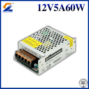 12V 5A 60W Power Supply For LED Strip