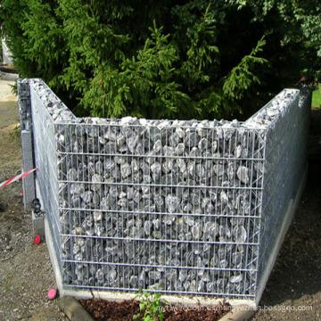 Caja galvanizada sumergida caliente de Gabion / cestas soldadas de Gabion / de Gabion