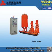 Unité de pompe à incendie avec contrôle pénalité