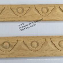 Moulure en bois de hêtre décorative Architrave Molding