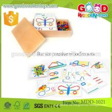 Nuevo producto conjunto de barras conjunto de madera creativa OEM barra de madera inteligente conjunto para el niño MDD-1021