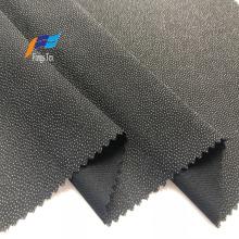 Jacquard Dots Polyester Linings Adhesive Black Abaya Fabric