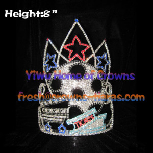 Movie Wheel Hollywood Star Pageant Crowns