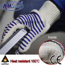 NMSAFETY 7 gauge cotton heat resistant esd safe gloves
