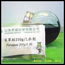 Herbicida HOT paraquat 200g / l SL