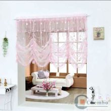 voile roman blind fabric for home decoration velvet curtain