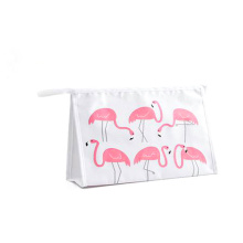 Custom Logo High Quality Sublimation Pattern Printed Cosmetic Makeup Bag