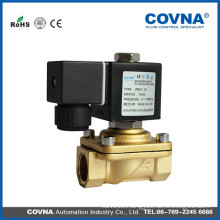 Automatic irrigation system water control brass solenoid valve