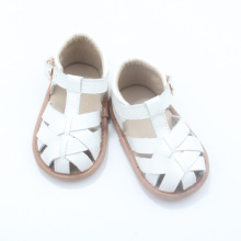 Weiches Leder Design Baby Boy Girl Sandalen