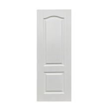 Bedroom modern white prime wood door panel skin sheet customized doors factory price GO-B1-DG