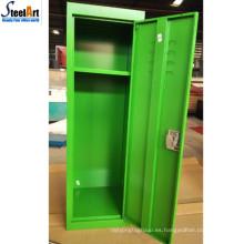 Pequeños tamaños muebles de dormitorio metal material niños armario