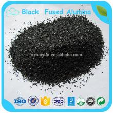 Polieren von verschiedenen Metall Black Fused Alumina