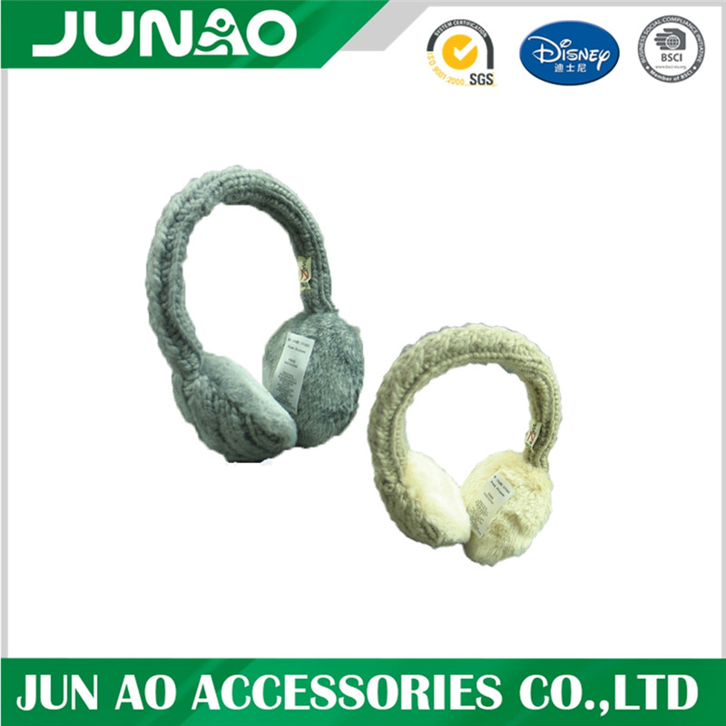 Winter earmuffs with custom design