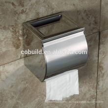 CX-505 mejor caja de pañuelos de papel de acero inoxidable para baño de pared de descuento