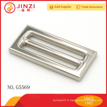 Jinzi marque sacs à main de haute qualité fermoirs carrés