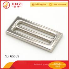 Jinzi marca de alta qualidade handbags hardware fivelas quadradas