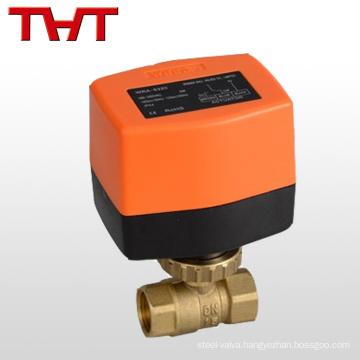 brass 1 inch 3 way water solenoid valve 12 V