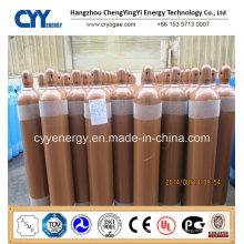 Cylindre de gaz en acier inoxydable à dioxyde de carbone à argon oxygène à haute teneur en oxygène liquide à haute qualité