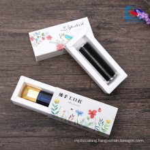 custom logo printed lipstick drawer box for cosmetic packaging box